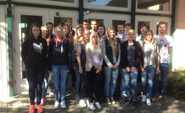 Der neue Jahrgang Auszubildender Industriekaufleute Ausbildung.plus in Löningen